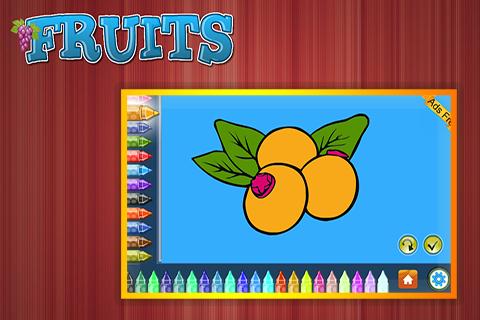 Coloring Book Fruits 1.5.0 screenshots 5