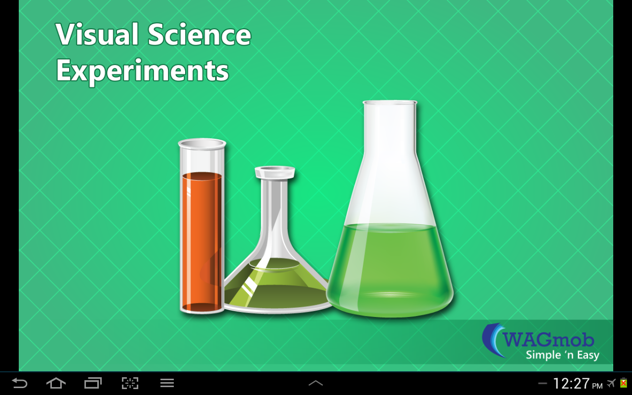 Visual Science Experiments - screenshot
