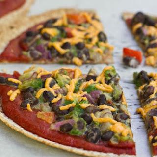 High Protein Tortilla Pizzas