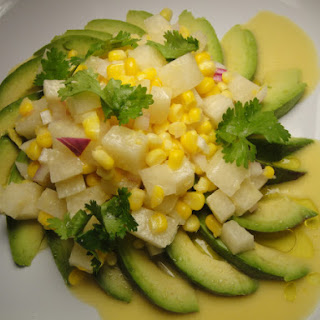 Jícama-Avocado Salad with Citrus Vinaigrette
