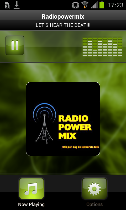 Radiopowermix- screenshot
