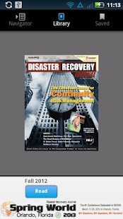 Disaster Recovery Journal- screenshot thumbnail