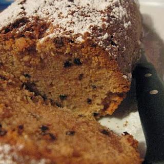 Chocolate Chip Coffee Pound Cake.