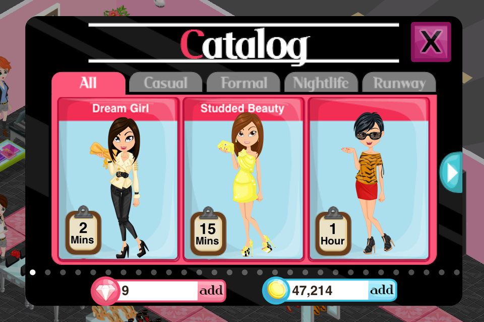 A Fashion Story Game Fashion Story Arena Fierce