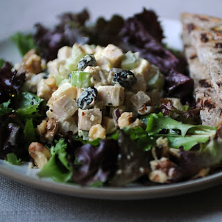 Curried Smoked Turkey Salad.