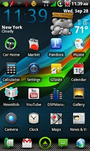 GLaSSMiX CM7 Theme ( Free ) - screenshot thumbnail