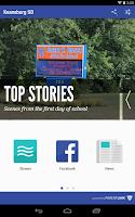 Screenshot of Keansburg School District