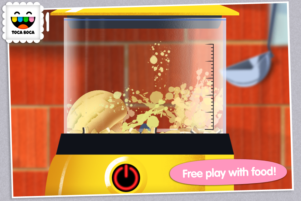 Toca Kitchen- screenshot