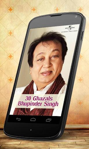 30 Ghazals Bhupinder Singh