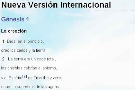 Biblia Versión Internacional - screenshot thumbnail