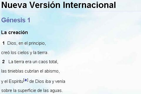Biblia Versión Internacional- screenshot