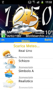 Real Uno Weather, PR.CLK wea- screenshot thumbnail