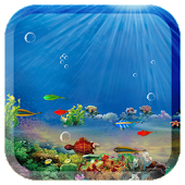 3D Ocean fish live wallpaper