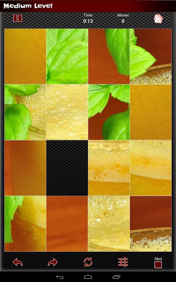 Photo Puzzle Games IV: Juicing- screenshot