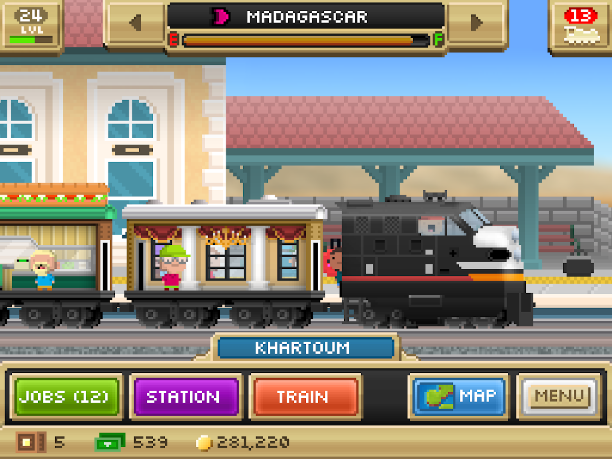 Pocket Trains- screenshot