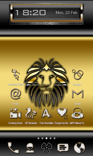 Gold-PD Icon Pack