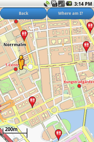Stockholm Amenities Map