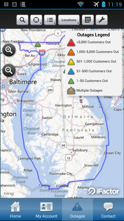 Delmarva Power Self-Service - screenshot