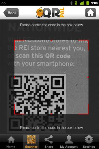 QR Pal - QR & Barcode Scanner - screenshot