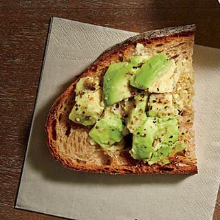 Smashed Avocado on Toast.