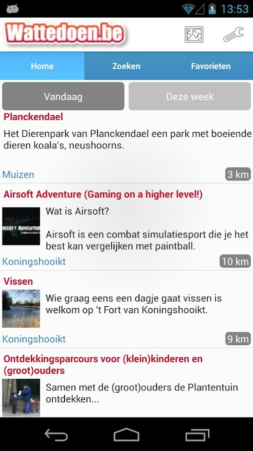 Wattedoen.be: screenshot
