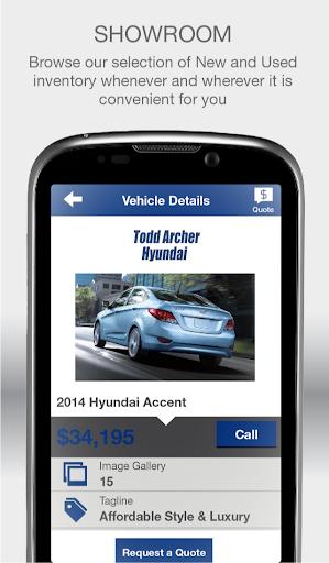 【免費生產應用App】Todd Archer Hyundai-APP點子
