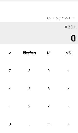 Taschenrechner vsCalc