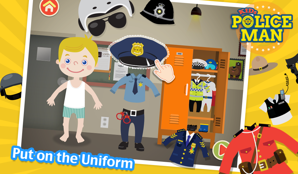 Kids Policeman Free- screenshot