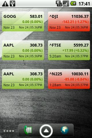 Stock Watcher - screenshot