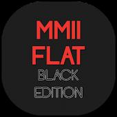 MMII FLAT Black Edition Theme