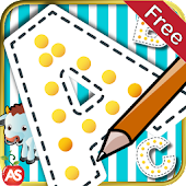 Kids Trace Write Letters abc