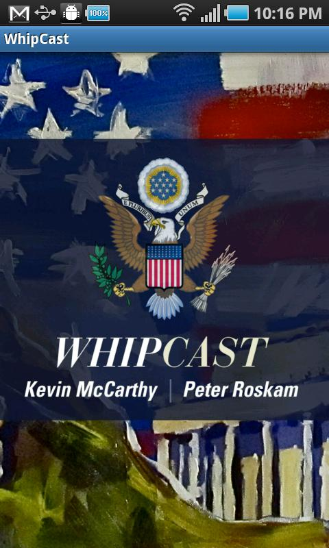 WhipCast - screenshot