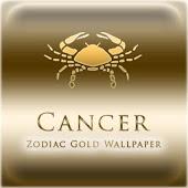Cancer Zodiac Gold WP