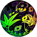 Flower Vintage LWP icon
