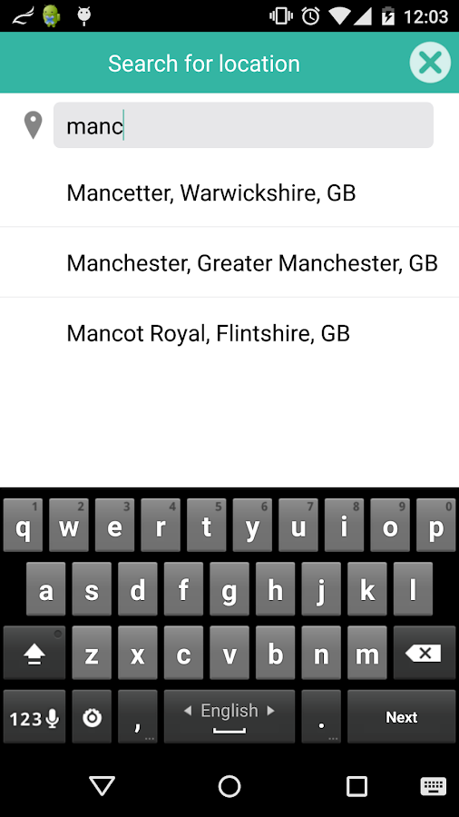 Onit event discovery app- screenshot