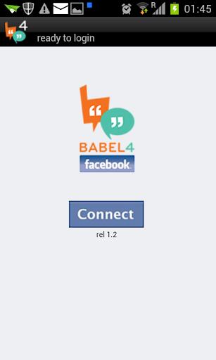 Babel4 facebook