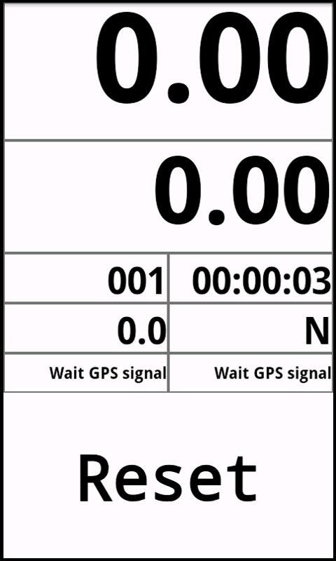 Gpstrip- screenshot