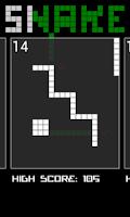 Screenshot of Snake. Survival