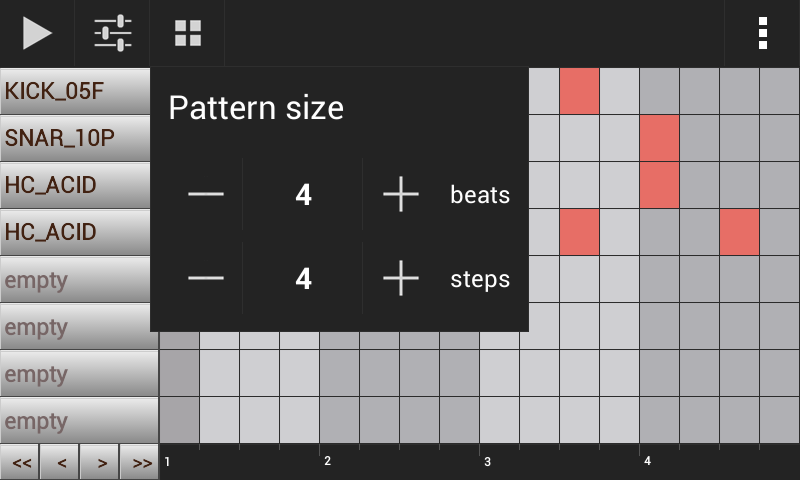 Groove Mixer. Music Beat Maker- screenshot