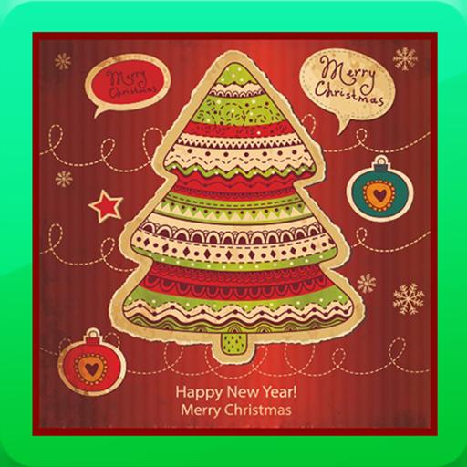 圣诞照片卡