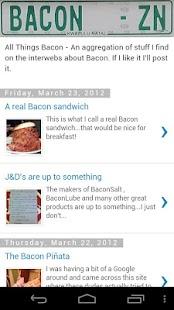 All Things Bacon- screenshot thumbnail