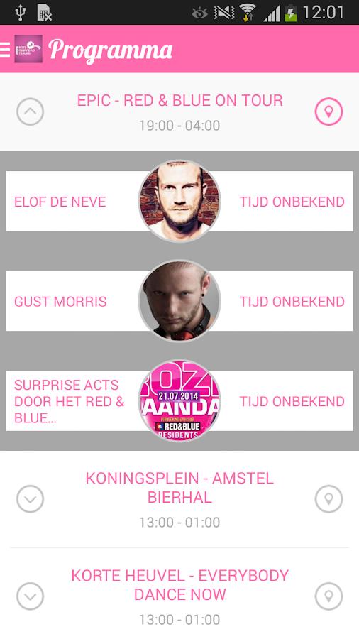 Roze Maandag - screenshot