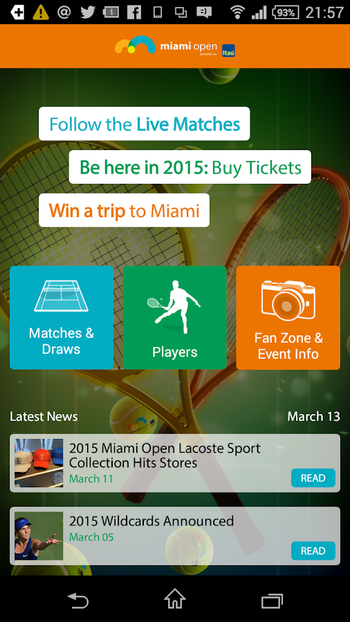 Miami Open - screenshot