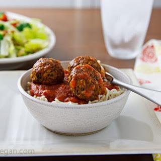 Beetballs (Vegan, Gluten-Free Sausage)