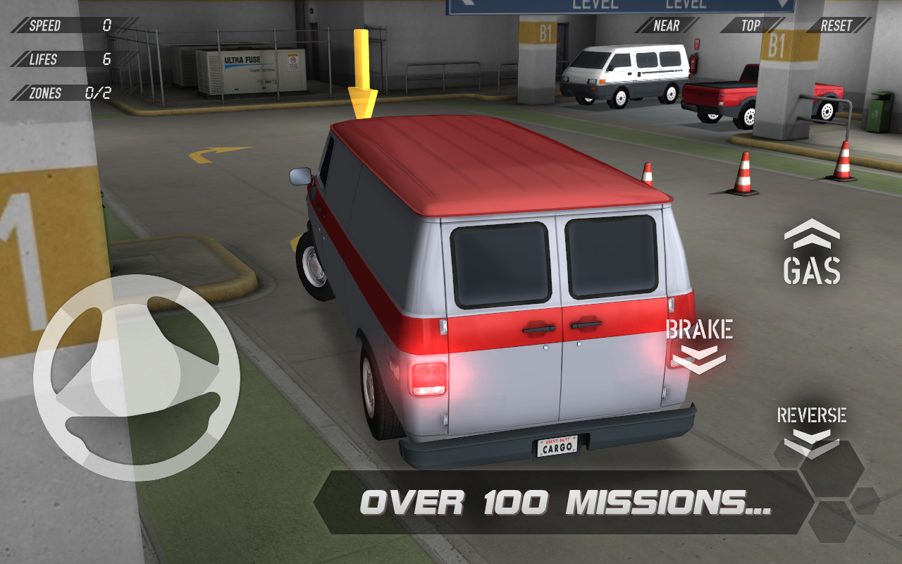 Parking Reloaded 3D - screenshot