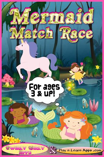 Mermaid Princess Match Game