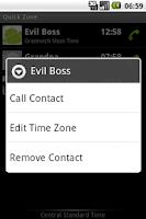 Screenshot of Quick Zone Trial