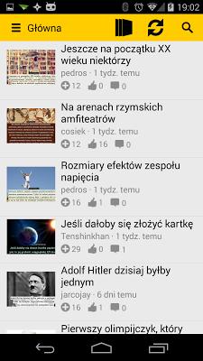 Faktopedia - screenshot