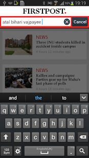 Firstpost - screenshot thumbnail