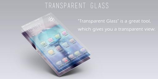 Transparent Glass Launcher
